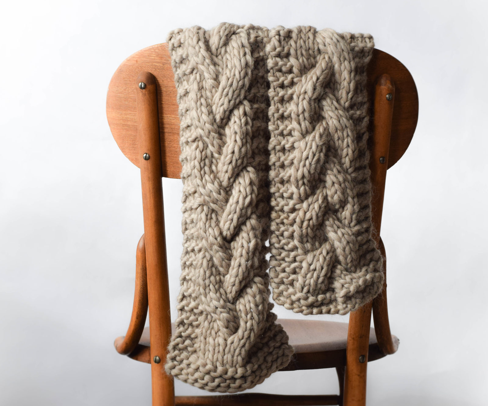 The Cascades Knit Scarf