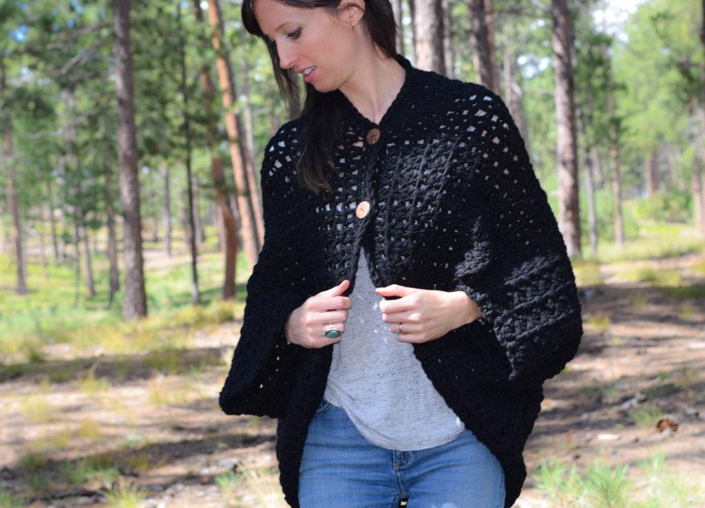 Crochet Blanket Cacoon Pattern 3