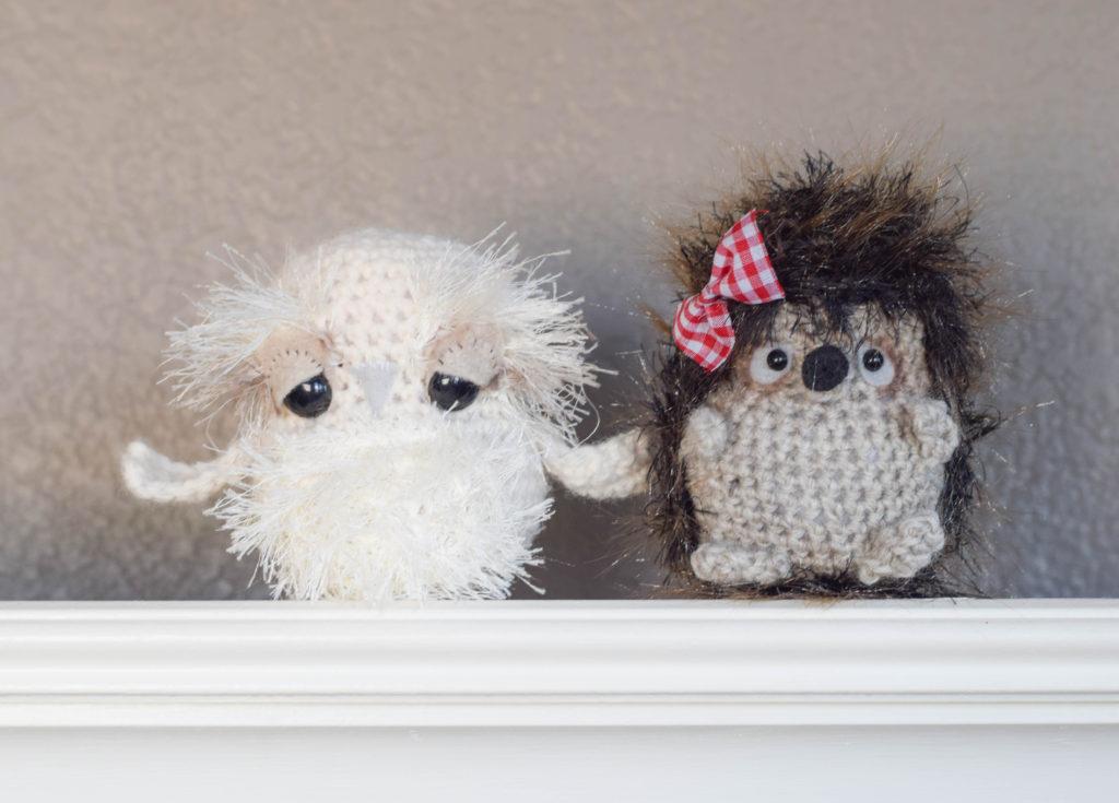 Crochet Owl Toy Pattern 4