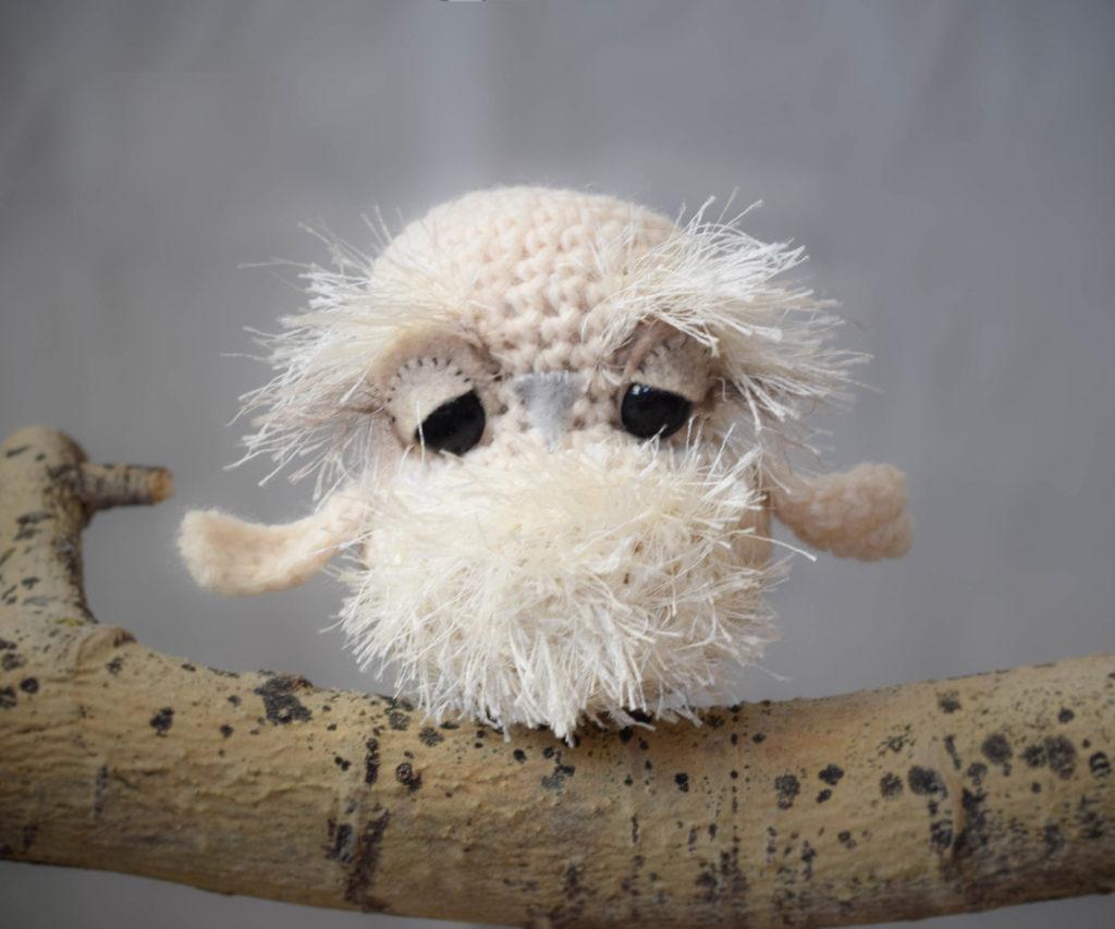 Crochet Owl Toy Pattern 6
