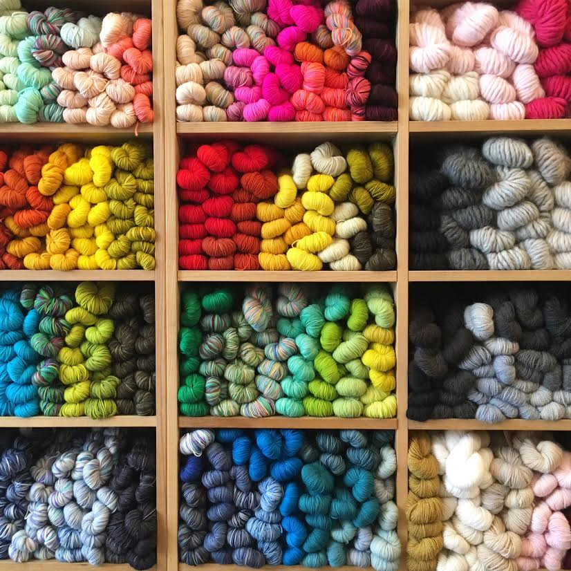 OH MY!!  Yarn Shopping in New York City