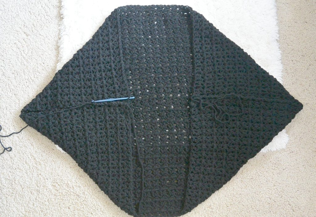 Crochet Stitches Chunky : shot this picture at a strange angle so it looks a little wonky ...