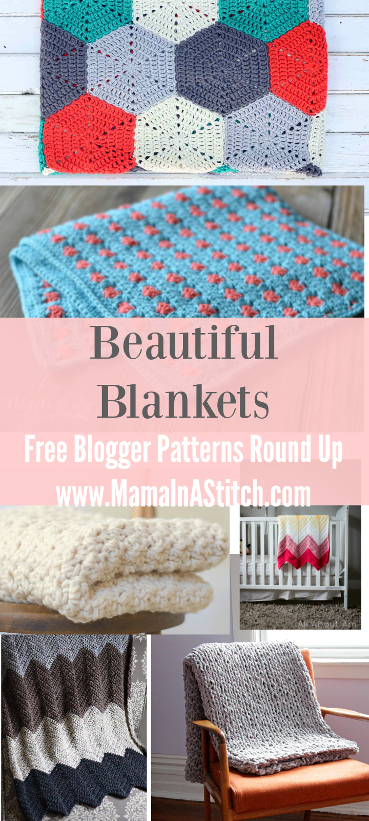 Beautiful Crochet Blanket Patterns Round-Up – Mama In A Stitch