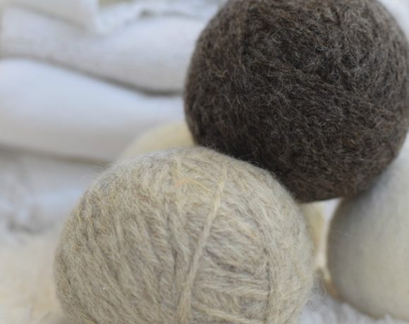How To Make Dryer Balls with Yarn