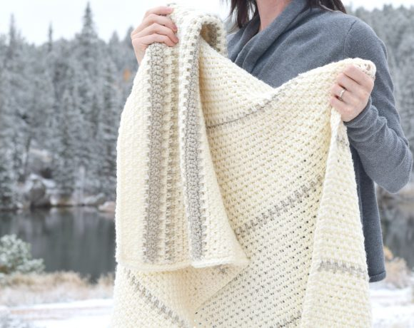 Mod Heirloom Crochet Blanket Pattern