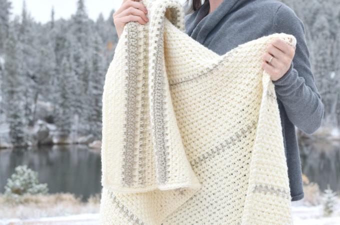 Mod Heirloom Crochet Blanket Pattern