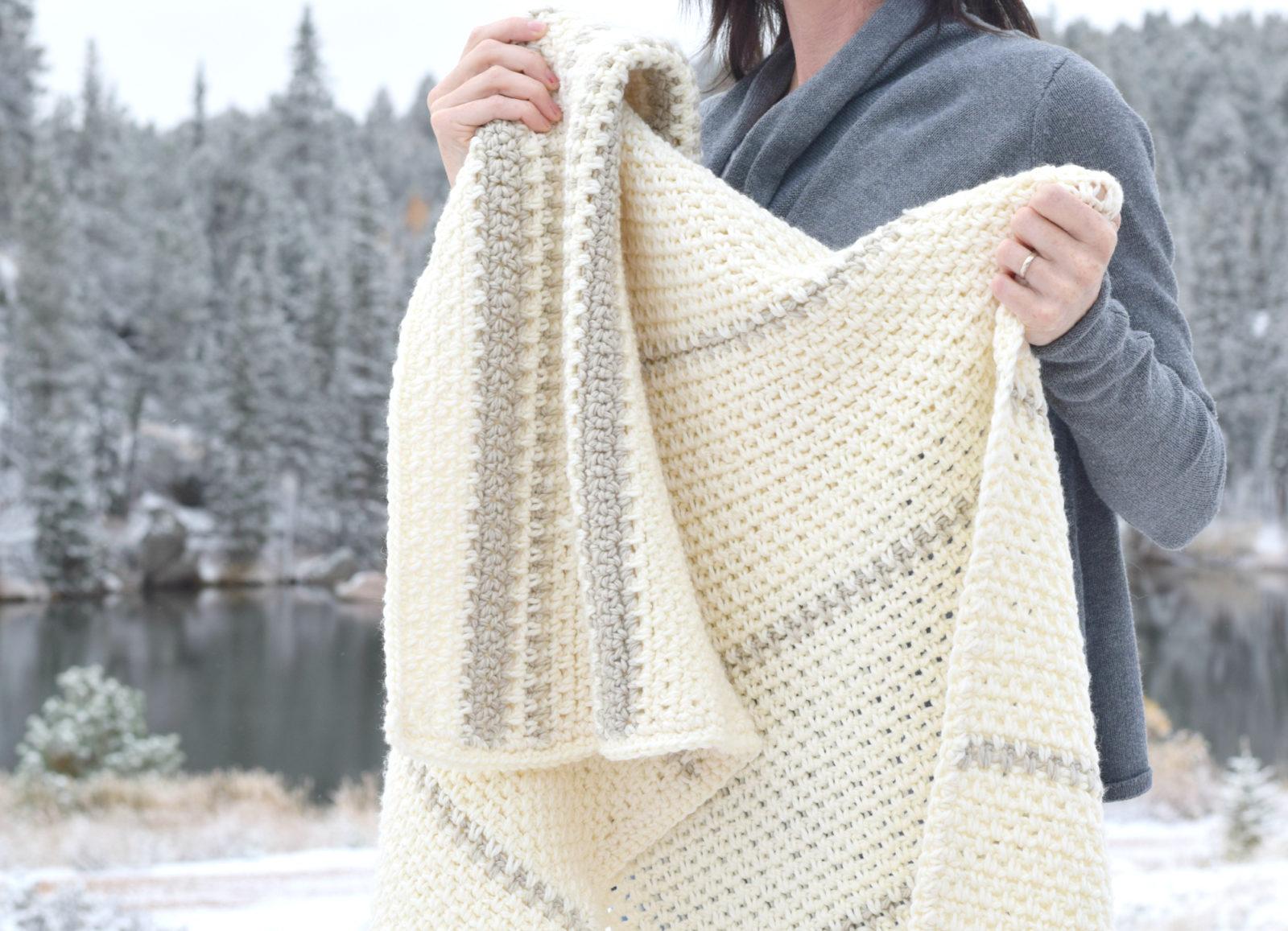 Mod Heirloom Crochet Blanket Pattern Mama In A Stitch