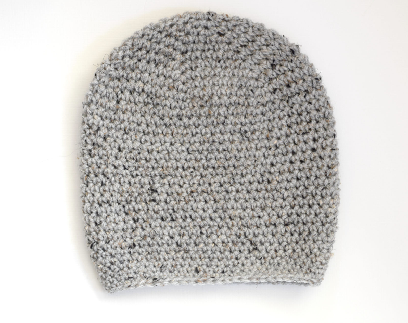 How To Crochet An Easy Slouchy Hat -