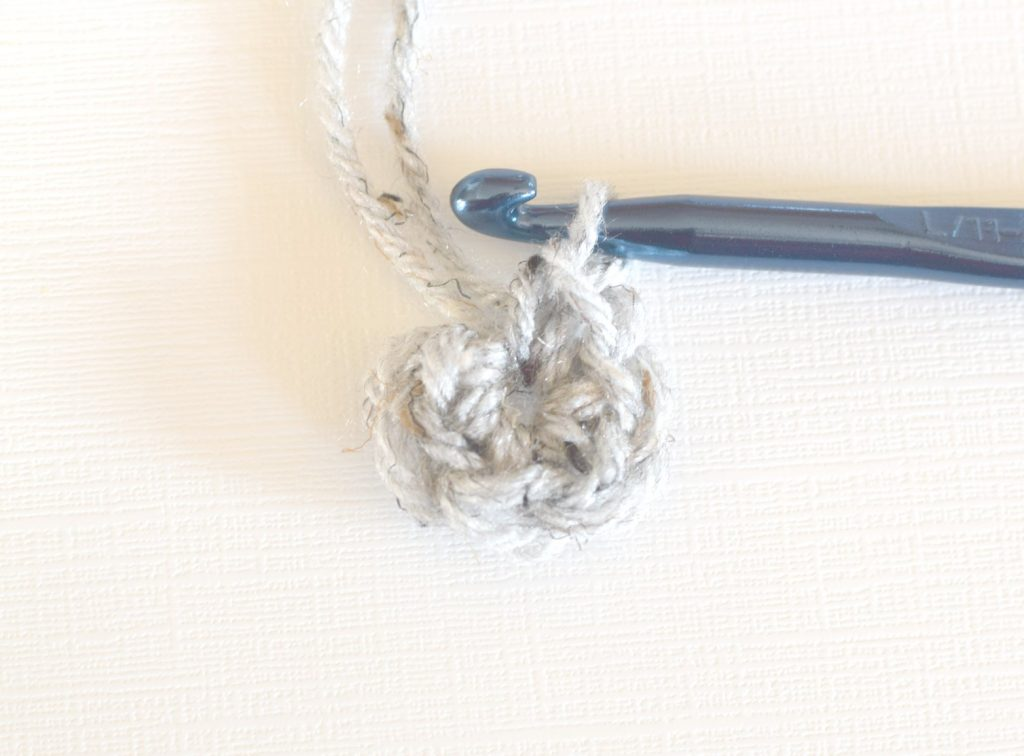 Crocheting Into Chain : Make 6 single crochet stitches into the second chain from your hook ...