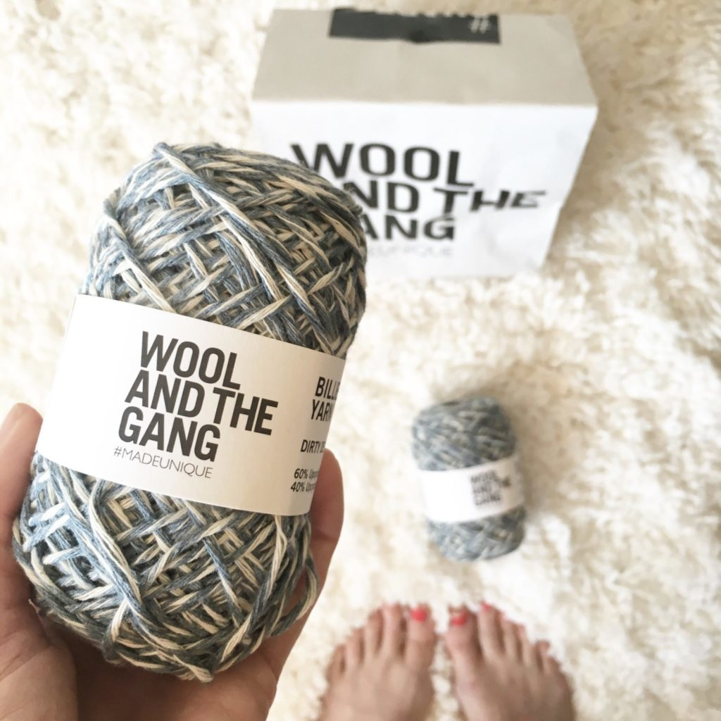 """Wool and the Gang """"Billy Jean"""" Yarn"""