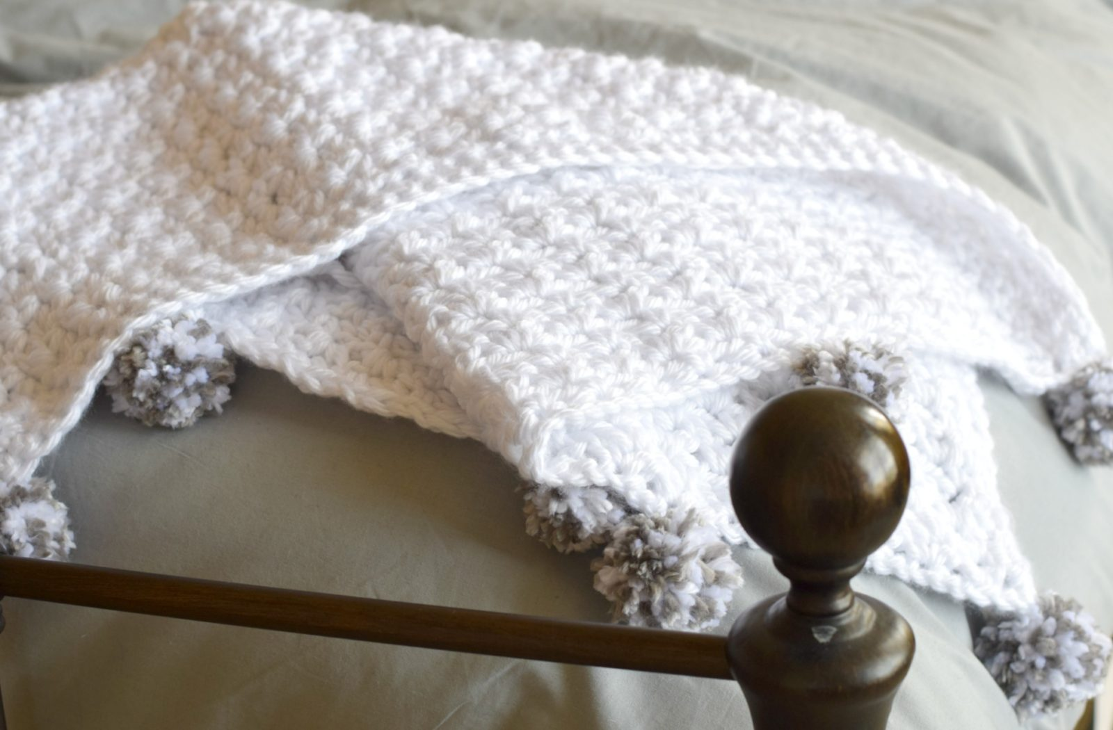 The Loft Pom Baby Blanket Mama In A Stitch