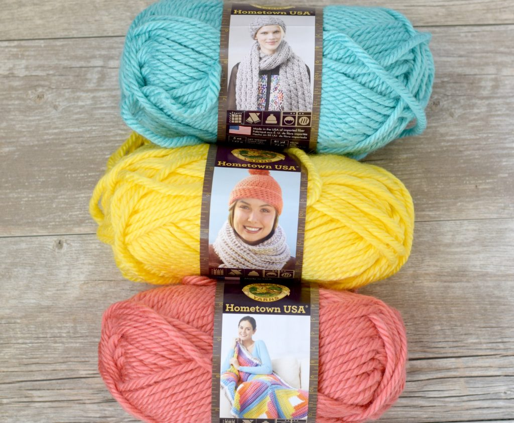 lofty-pom-blanket-lion-brand-yarn