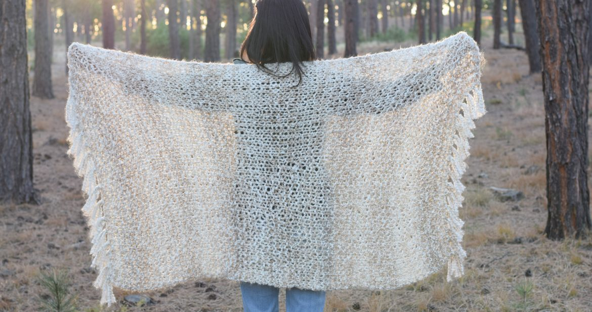 Sedona Serenity Knit Shawl Pattern – Mama In A Stitch