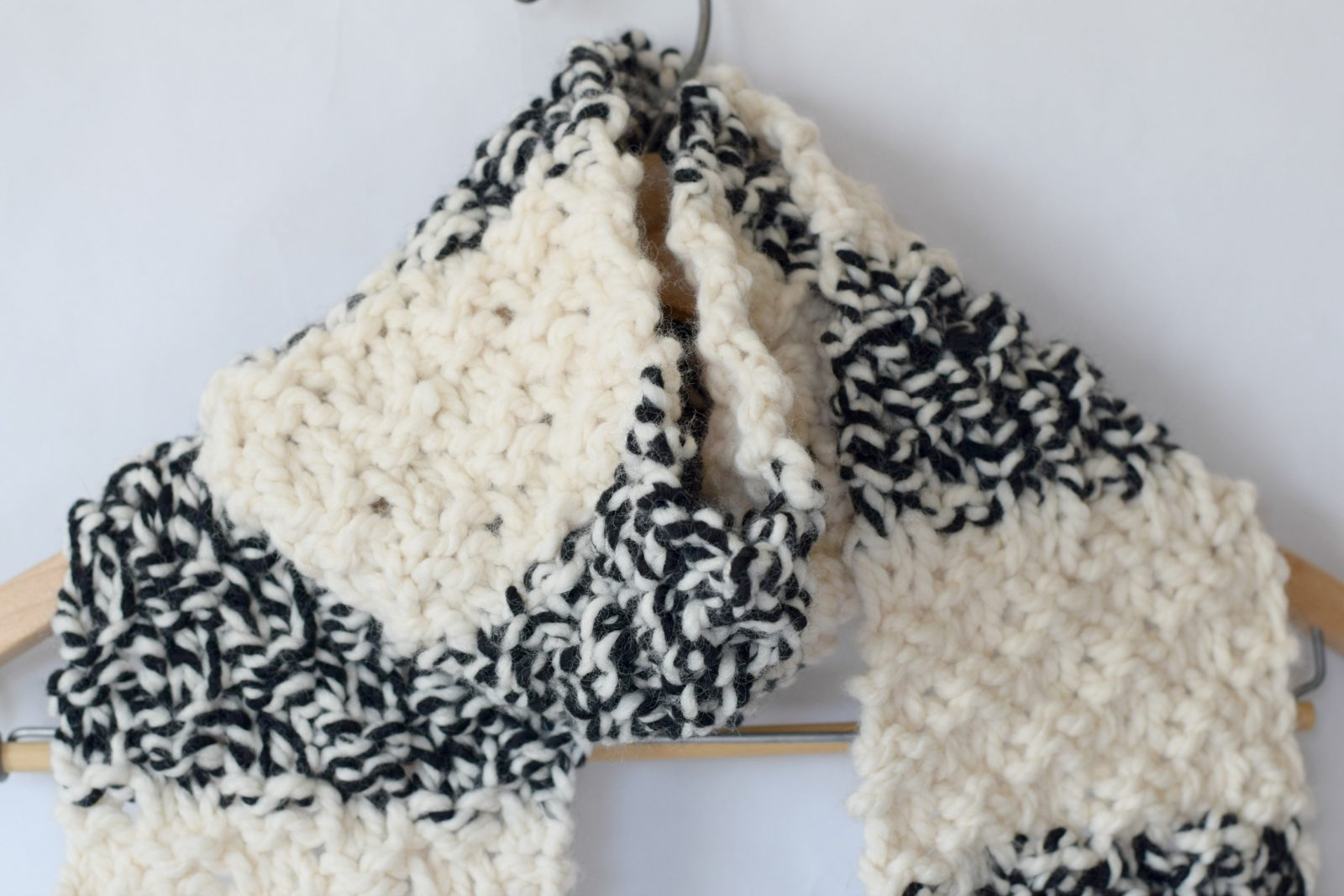 Winter Nights Easy Knit Scarf Pattern – Mama In A Stitch