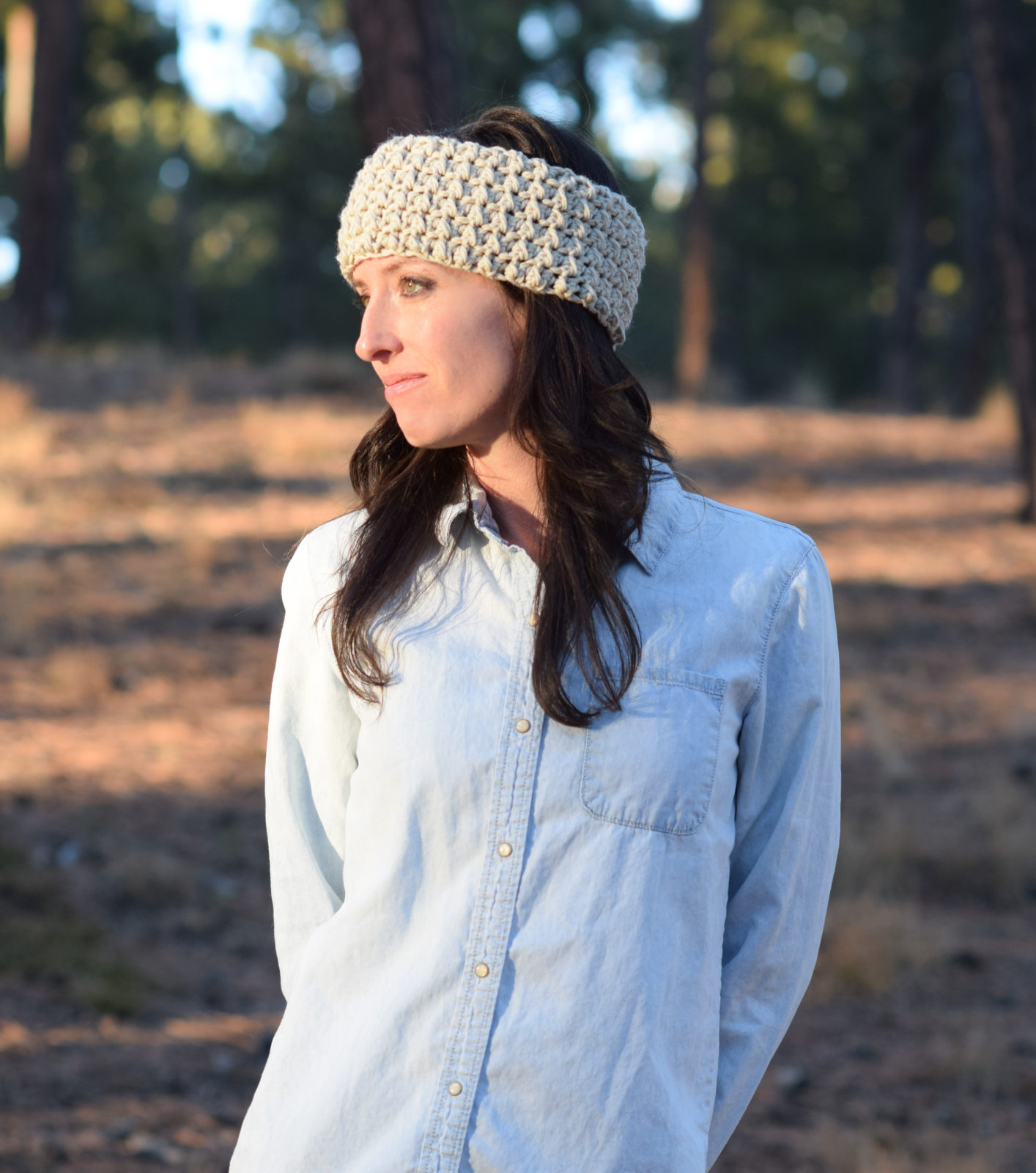 Messy bun ear warmer crochet pattern mama in a stitch messy bun ear warmer crochet pattern bankloansurffo Image collections