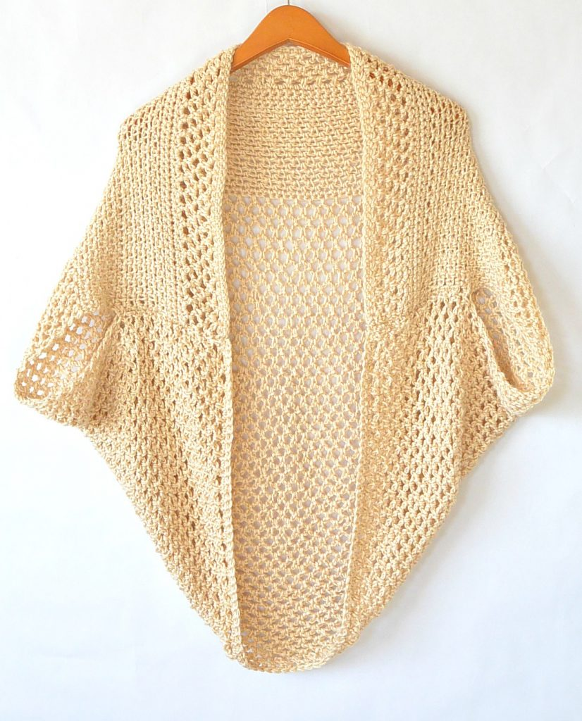 beautiful-crocheted-sweater-shrug-pattern