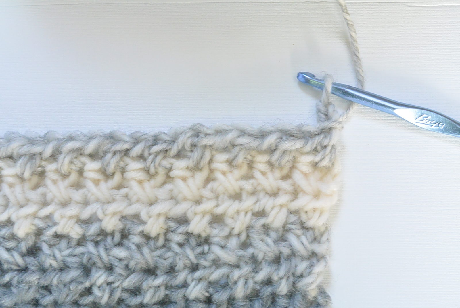 Crochet Stitches Hdc : Crossed Half Double Crochet Stitch Tutorial - Mama In A Stitch