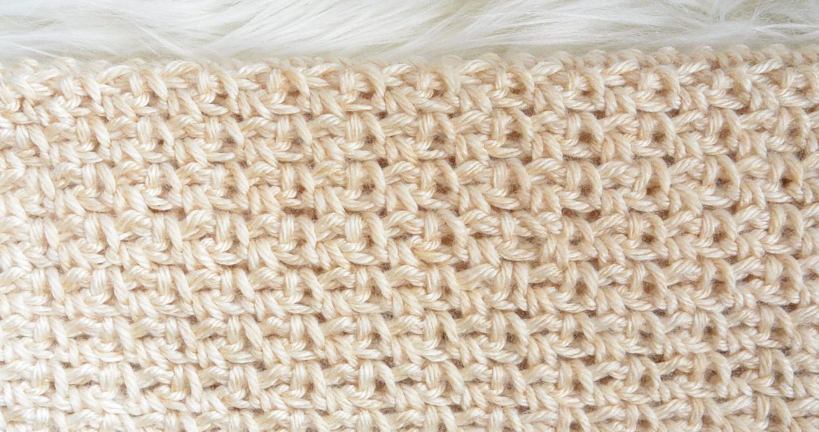 How To Crochet the Granite or Moss Stitch – Mama In A Stitch