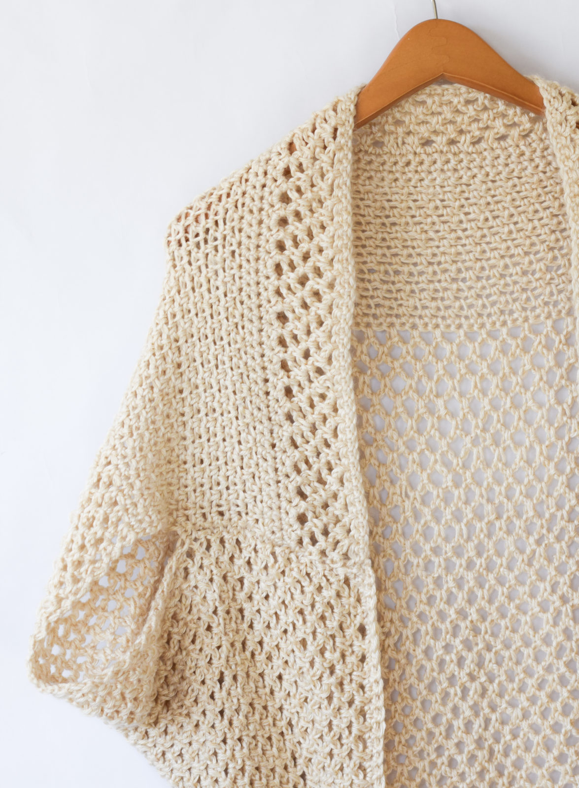 Mod mesh honey blanket sweater mama in a stitch easy crochet sweater pattern shrug bankloansurffo Gallery