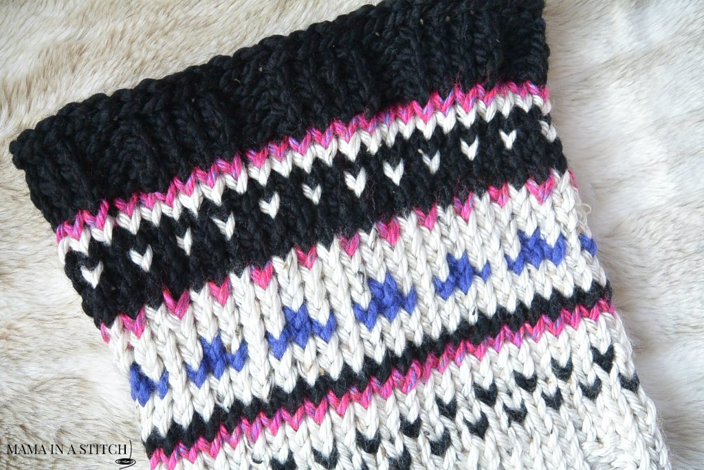fair-isle-knit-cowl-close-up