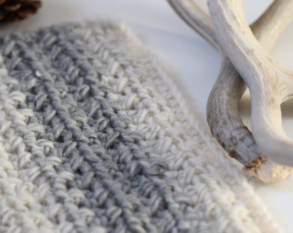 Crossed Half Double Crochet Stitch Tutorial
