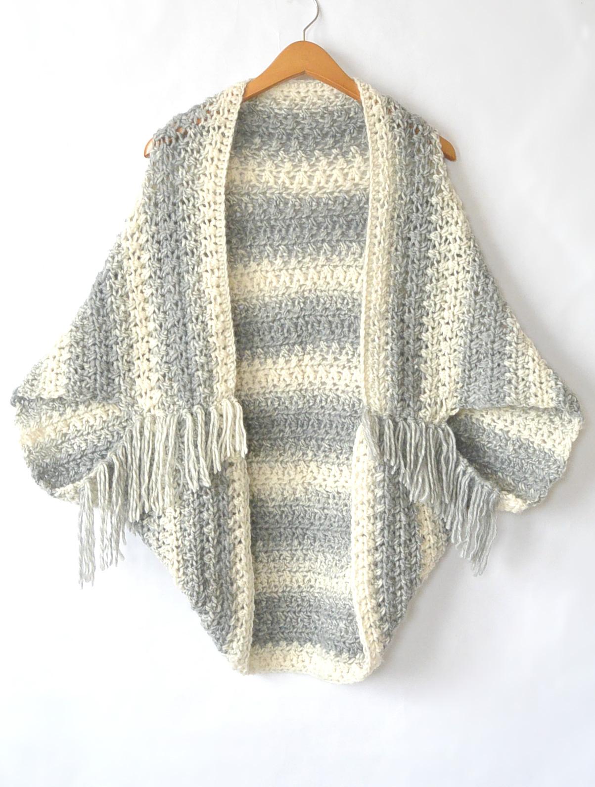 Trolls Knitting Or Crocheting Patterns : Light frost easy blanket sweater crochet pattern mama in