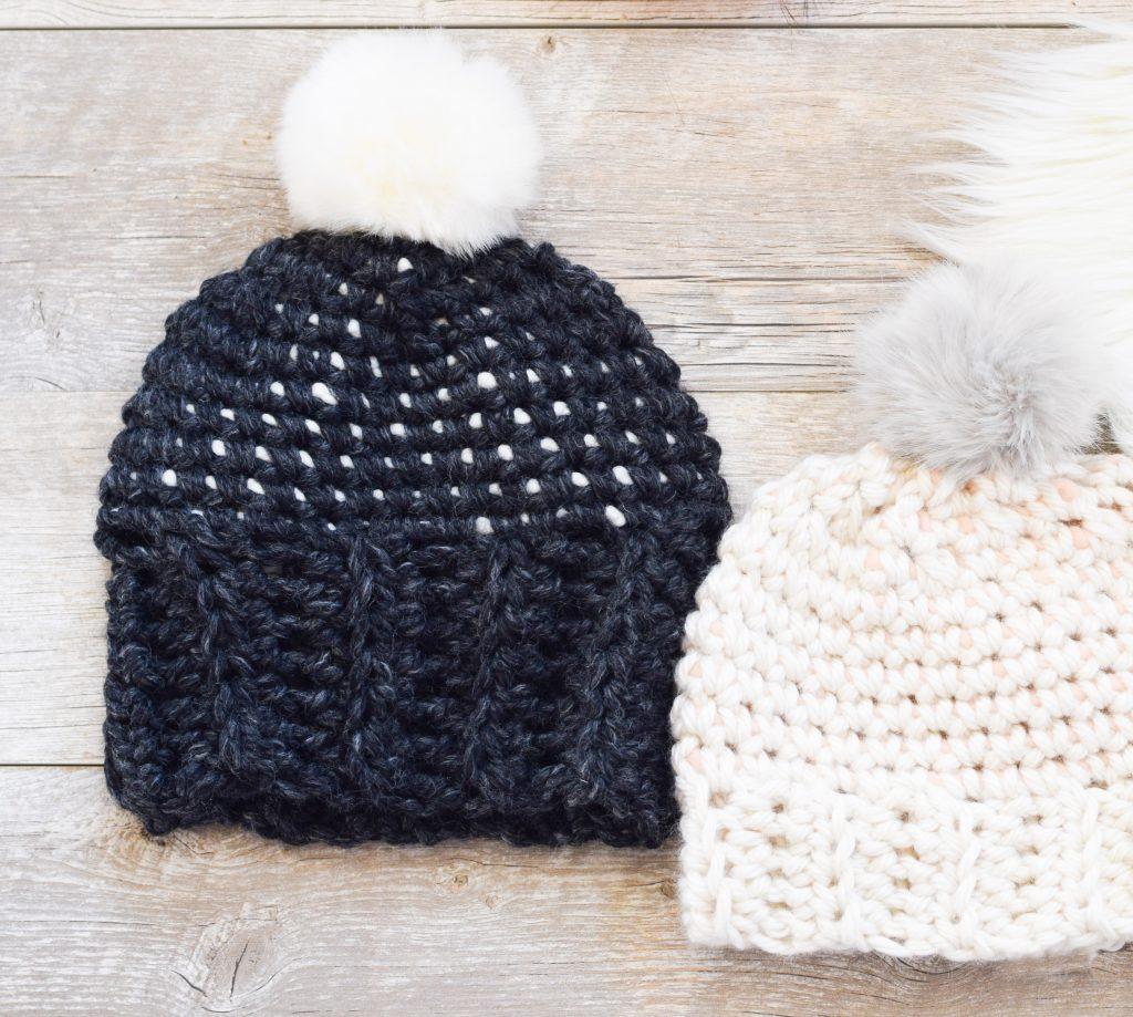 Starry Sky Crochet Hat Pattern