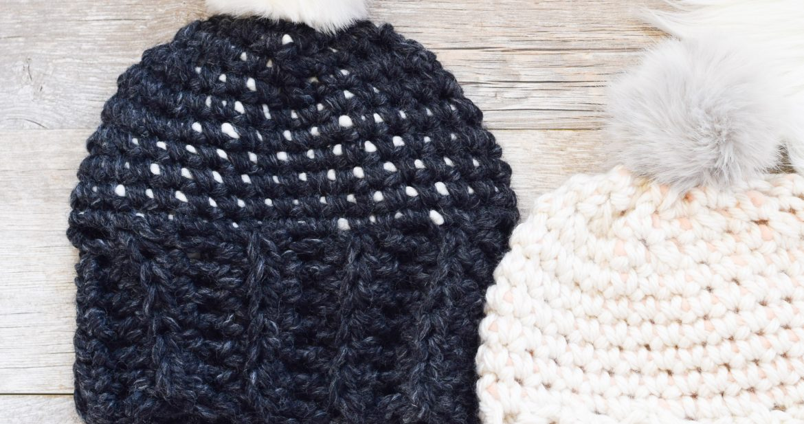 Starry Sky Crochet Hat Pattern – Mama In A Stitch