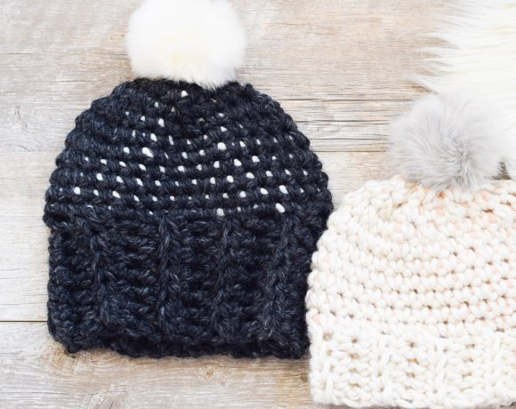 Starry Sky Crochet Hat Pattern