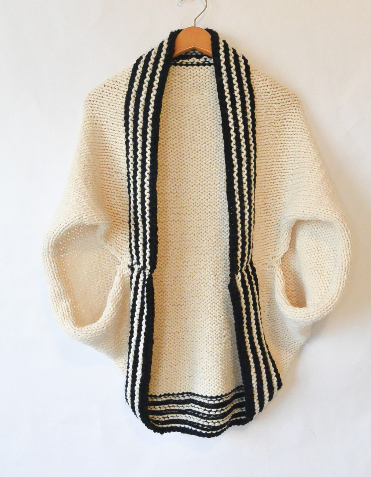 Classic stripe easy knit sweater blanket sweater mama in a stitch save jeuxipadfo Images