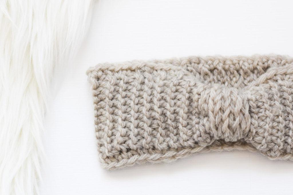 Crochet Headband Pattern Faux Purl