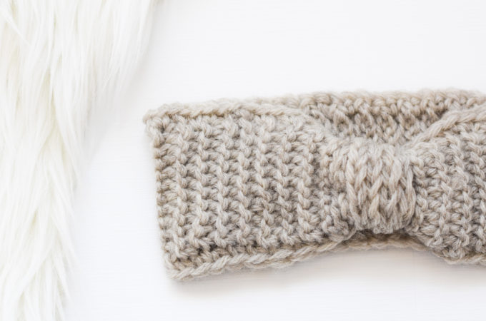 Crochet Headband Pattern Faux Purl