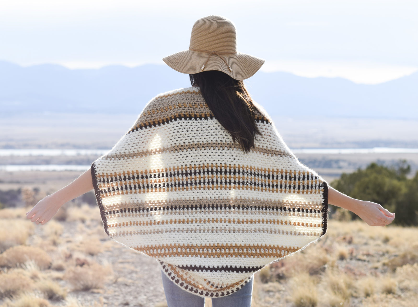 Baja Blanket Sweater Crochet Pattern Mama In A Stitch