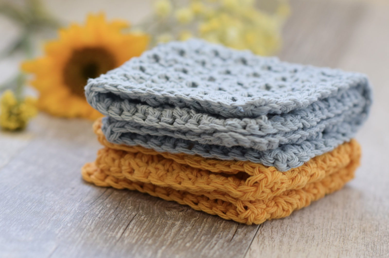 Farm House Washcloth Crochet Pattern Mama In A Stitch