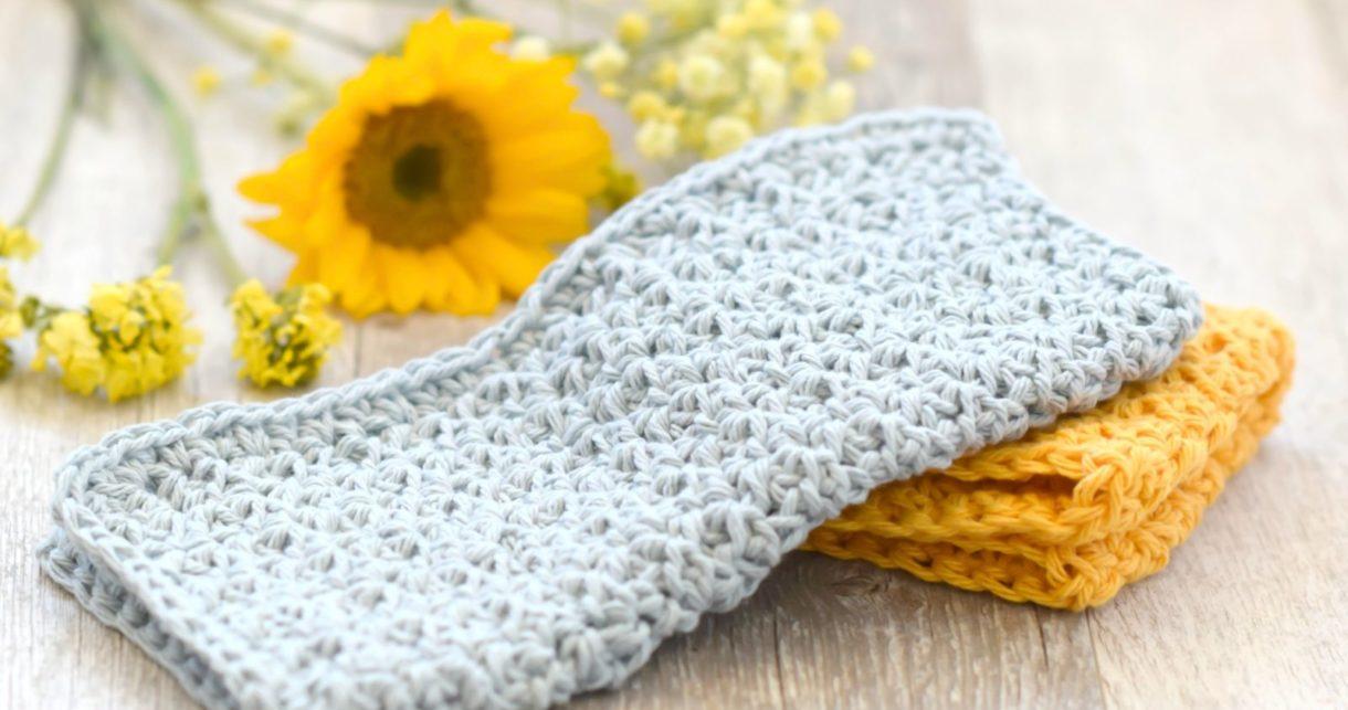 Farm House Washcloth Crochet Pattern Mama In A Stitch