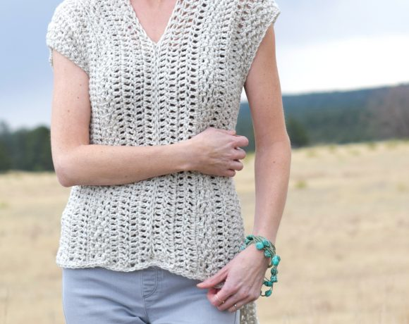 "The ""Topcho"" Easy Crochet Shirt Pattern"