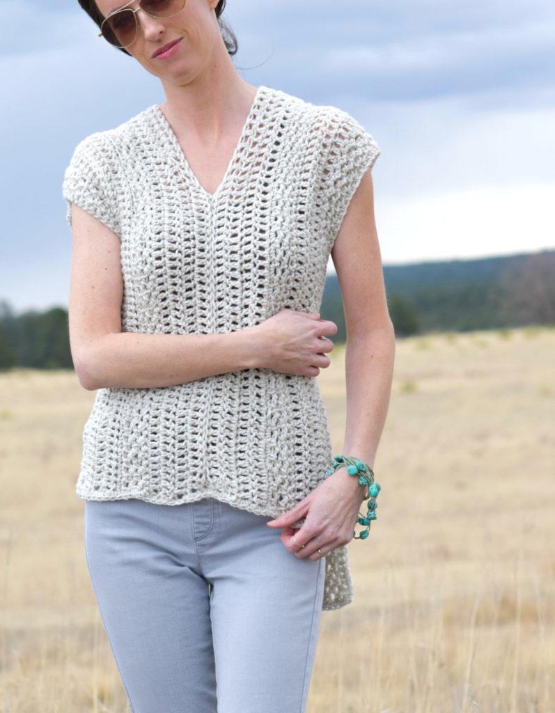 "The ""Topcho"" Easy Crochet Shirt Pattern"