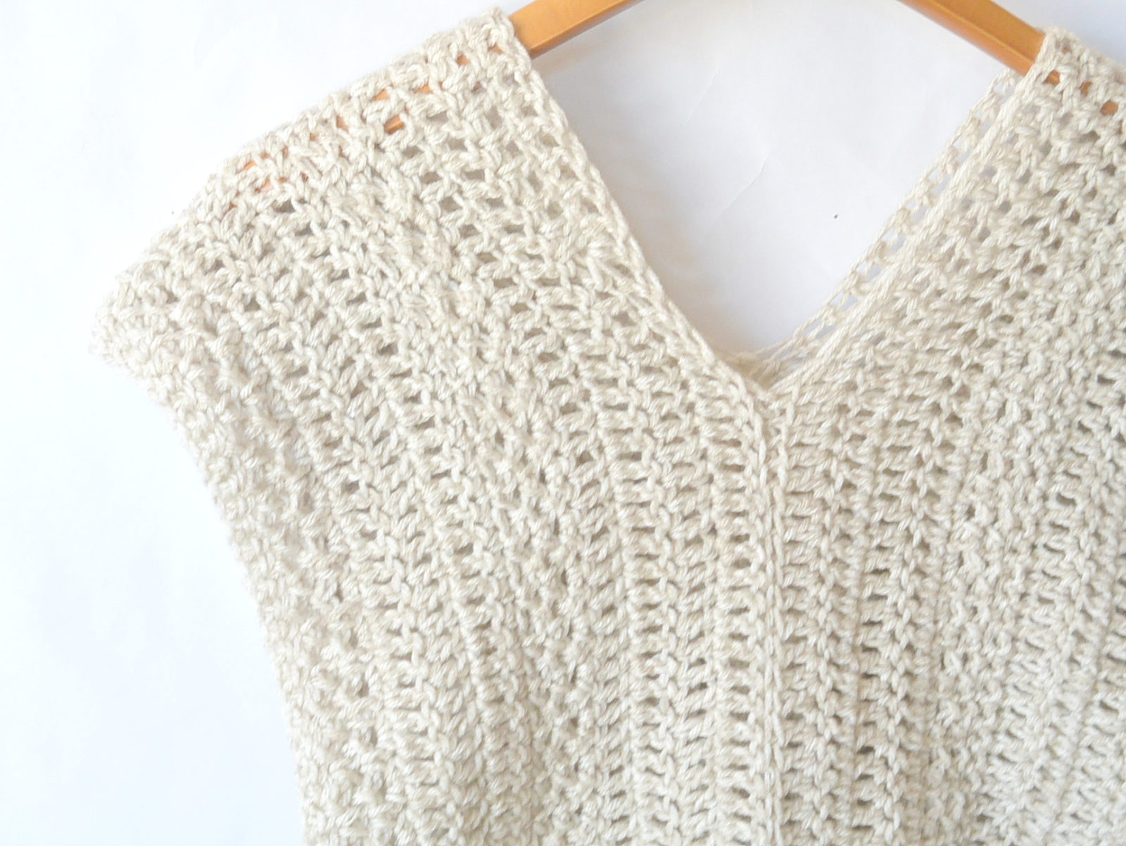 The Topcho Easy Crochet Shirt Pattern Mama In A Stitch
