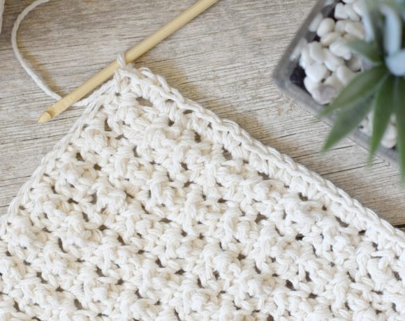 Prettiest Lil' Crocheted Washcloths