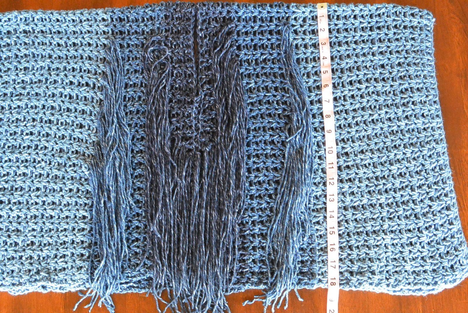 Azul V-Mesh Easy Crochet Poncho Pattern – Mama In A Stitch