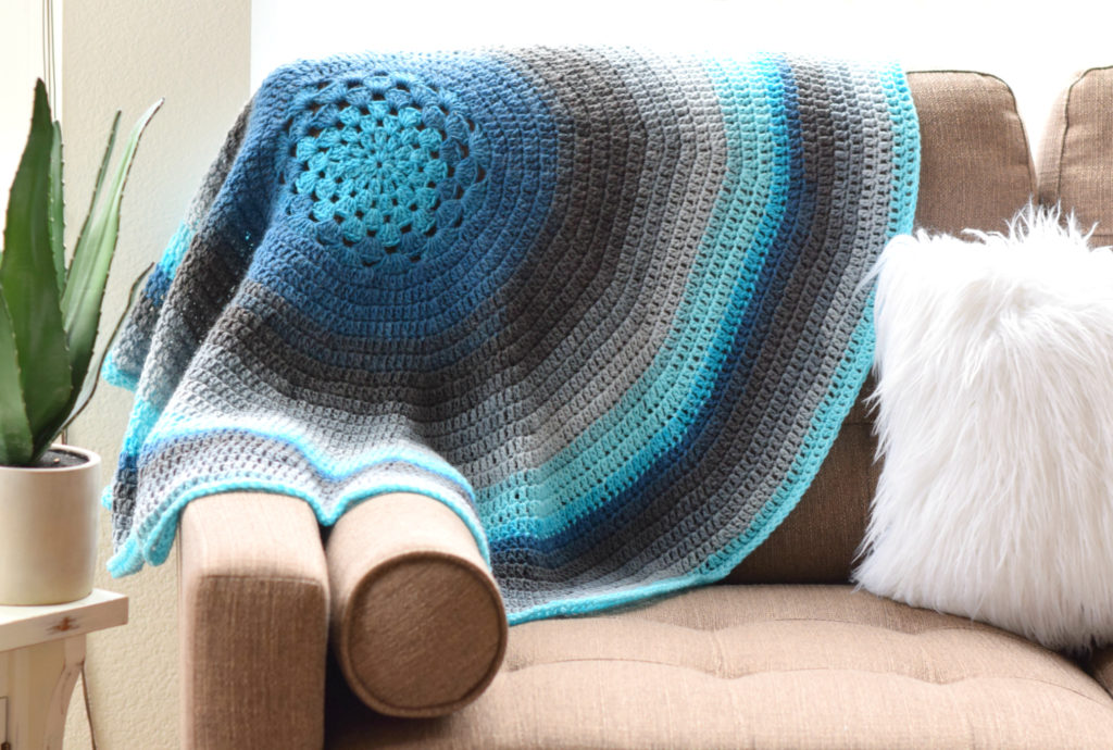 Mandala Crocheted Blanket Bag Pattern Mama In A Stitch