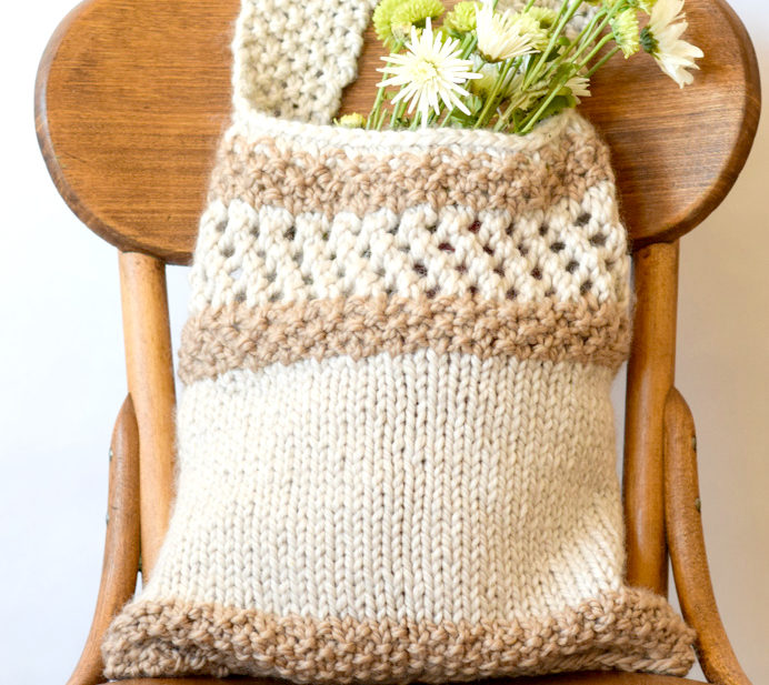 Knitting Pattern Farmers Market Tote – Mama In A Stitch