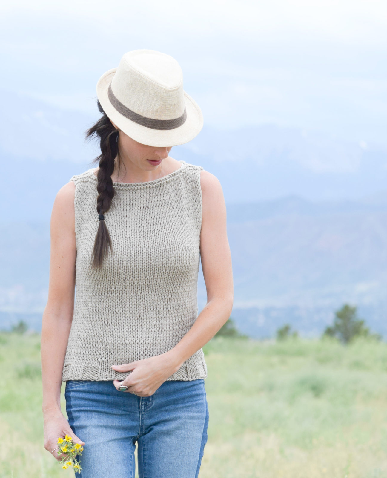 Best Knitting Vacations : Easiest classic knit top pattern mama in a stitch