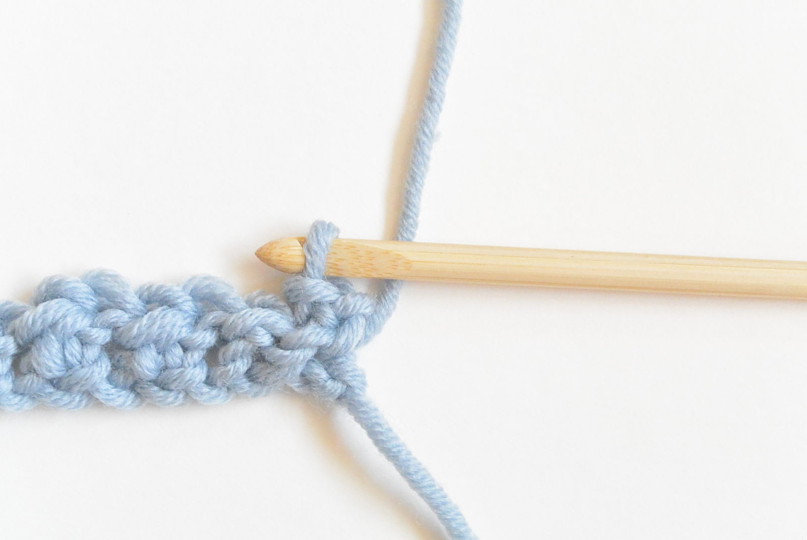 How To Crochet The Even Moss Stitch Mama In A Stitch
