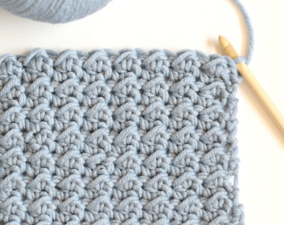 How To Crochet the Even Moss Stitch