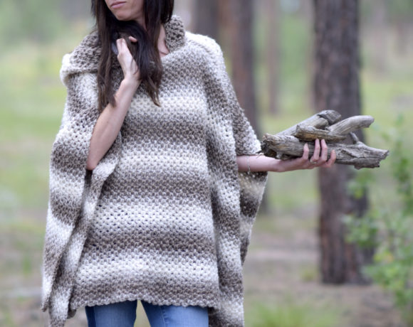 Easy Crochet Poncho Archives Mama In A Stitch