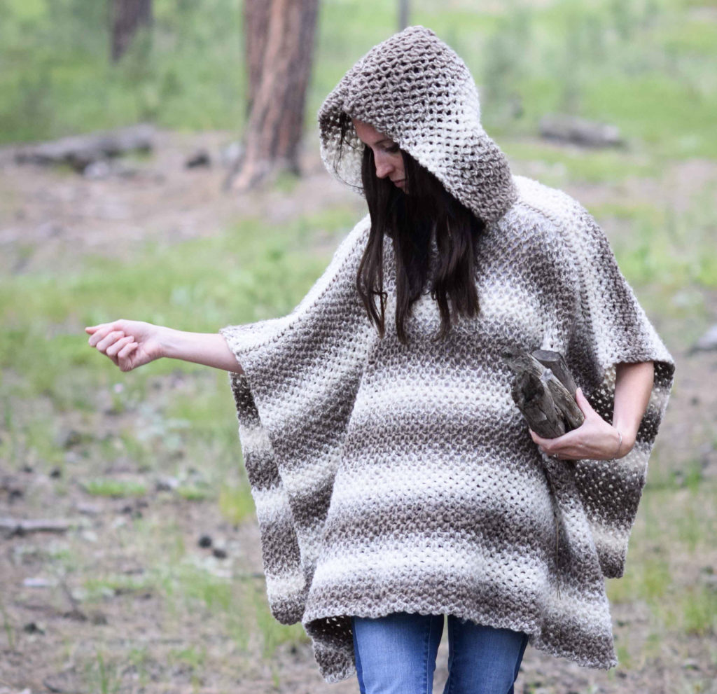 Oversized hood knitting pattern yaasfo for driftwood oversized crochet hooded poncho pattern mama bankloansurffo Image collections