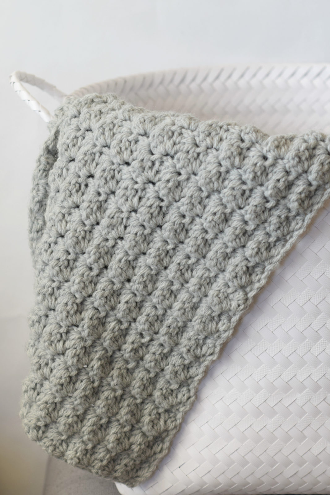 Simple crocheted blanket go to pattern mama in a stitch save dt1010fo