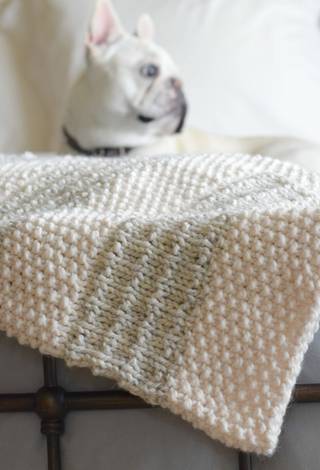 Knit Quilt Patterns : Easy Heirloom Knit Blanket Pattern   Mama In A Stitch