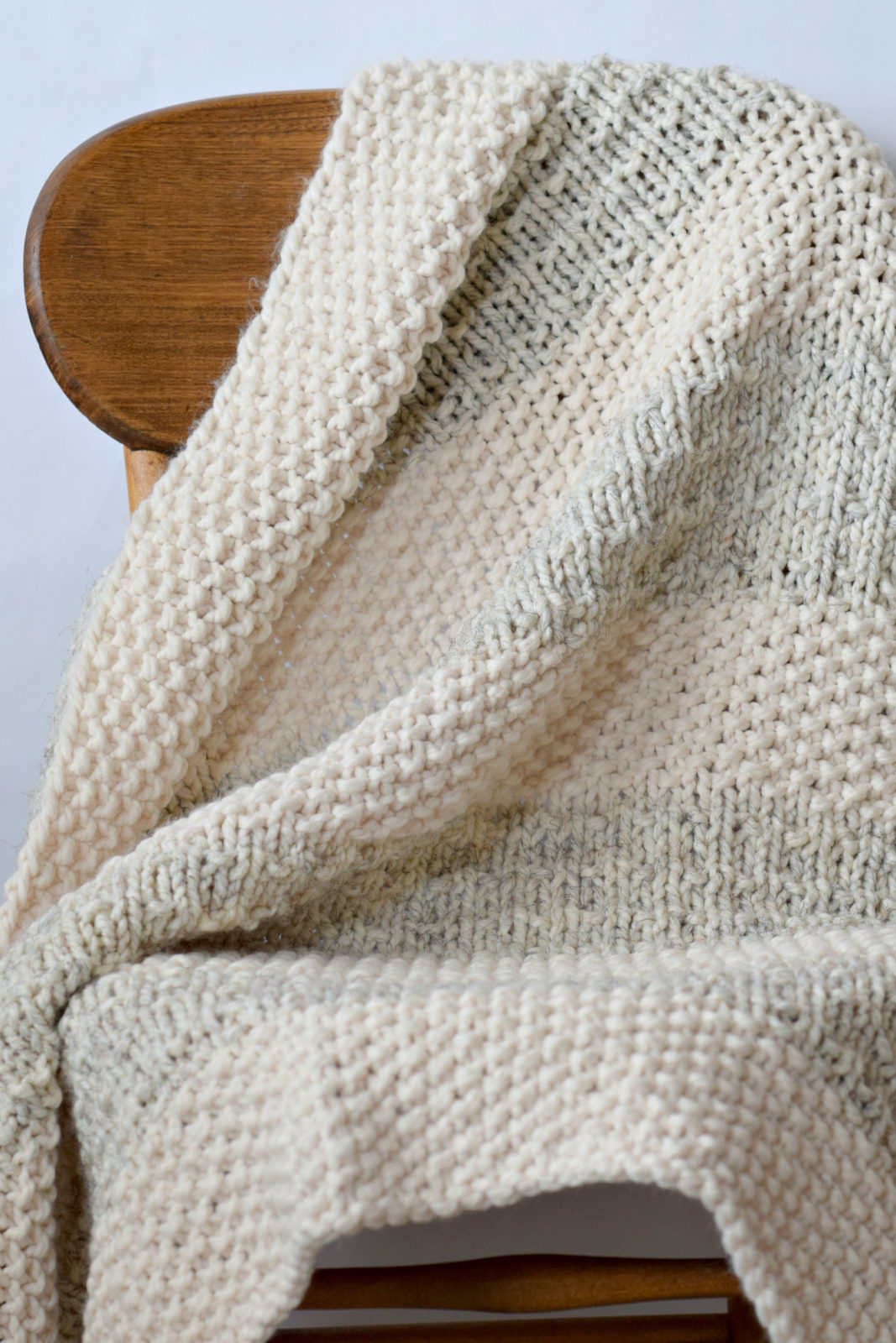 Easy Knitting Blanket Patterns : Easy Heirloom Knit Blanket Pattern   Mama In A Stitch
